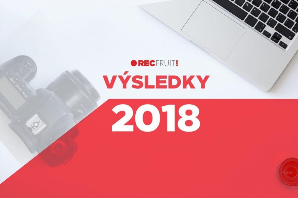 Výsledky RECfruit 2018