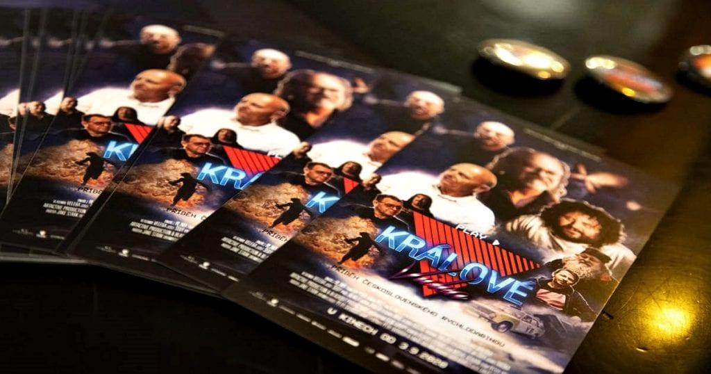 letáky k filmu Králi videa