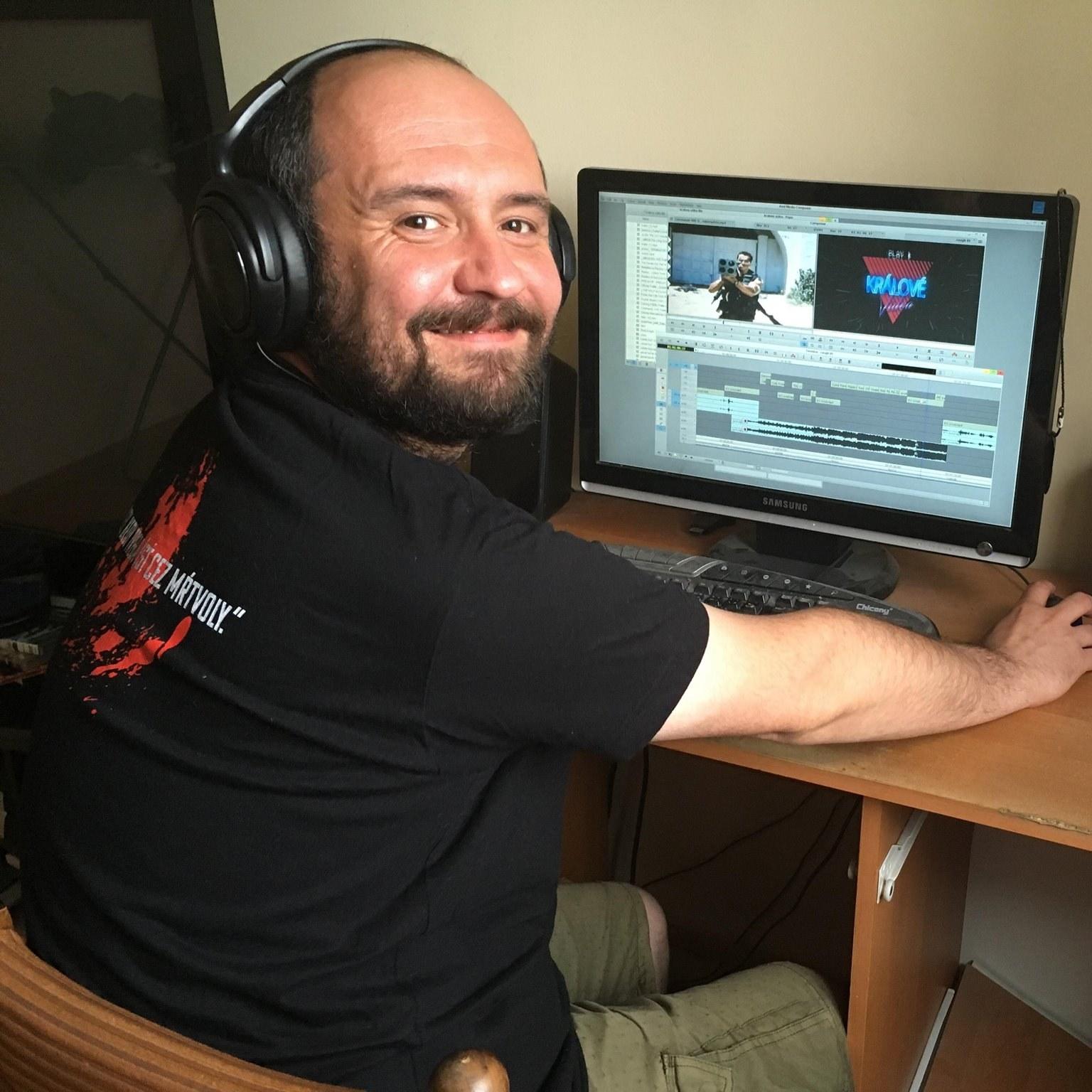 filmový strihač Peter Pavlík